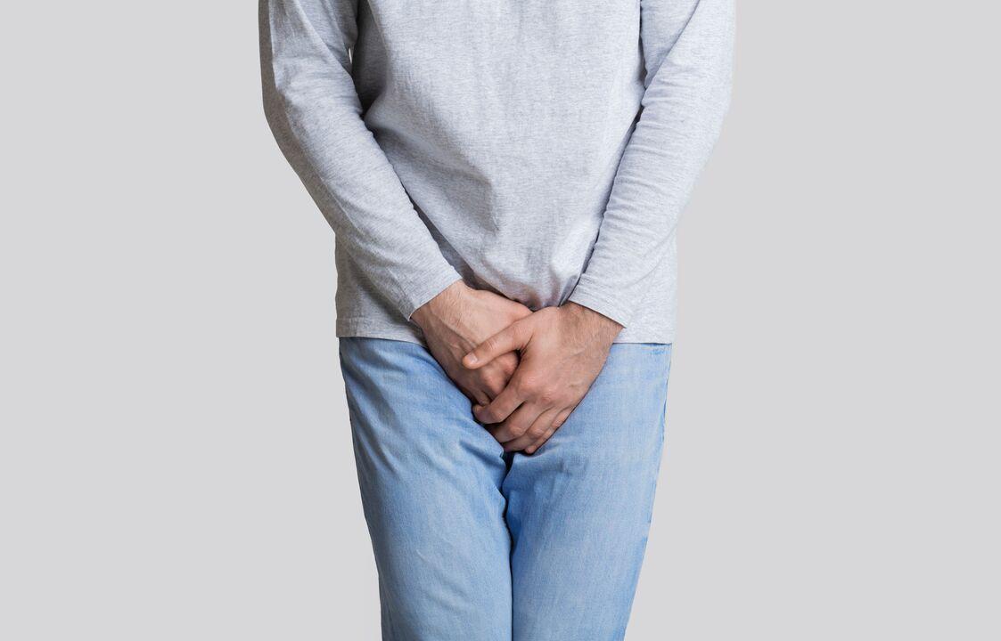 Prostatitis ülő életmóddal